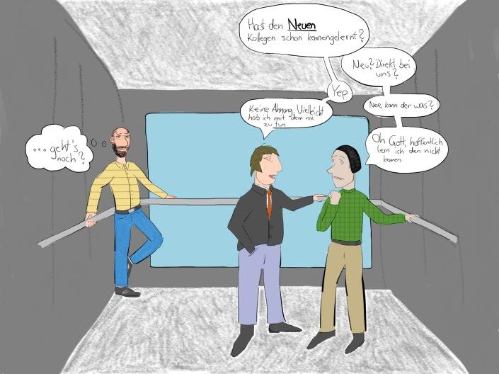 Erlebnis im Fahrstuhl...